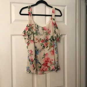 Sweet Pea by NY& Co. cold shoulder blouse.